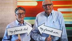 Zemřel otec zakladatele Microsoftu Billa Gatese, čtyřiadevadesátiletý filantrop měl Alzheimera