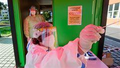 Čtvrtek přinesl další rekord: přibylo 9721 případů koronaviru. Nejhorší situace je v okrese Plzeň-sever
