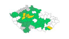 V oranžovém stupni covidového semaforu je s Prahou nově pět okresů. Zelených oblastí je už 40