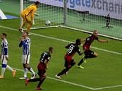 Hertha před 4000 fanoušky nestačila na Frankfurt, Darida střídal už po přestávce