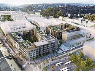 Nová pražská čtvrť Smíchov City má během následujících 12 let vyrůst na...