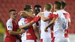 Slavia sestřelila Slovácko 3:0, Olomouc si připsala skvělý start do sezony