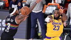 Basketbalisty Lakers dělí jediná výhra od finále NBA. V semifinále porazili Denver a v sérii vedou 3:1