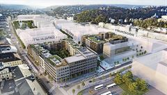 Startuje největší developerský projekt v Praze. Na Smíchově vyroste nová čtvrť s kilometrovým bulvárem