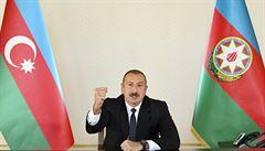 Ázerbájdžánský prezident bude jednat o Karabachu, kompromis už nyní odmítá