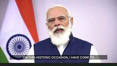 Indie poskytne své kapacity na výrobu vakcín celému lidstvu, slíbil premiér Módí v OSN