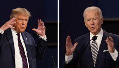 Trump a Biden jako národní hanba? 'Nejhorší debata' stvrdila propastné příkopy