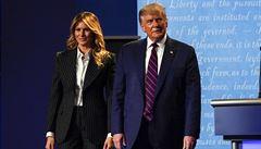 Trump má koronavirus, nakazila se i první dáma Melanie. Společně to zvládneme, vzkazuje prezident