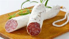 V Česku je španělský salám fuet se salmonelami, varují veterináři. Do obchodů se dostalo zhruba 12 tisíc balení