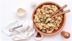 Krémový toskánský květák s kuřecím masem podle foodblogerky