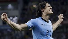 Vyřadil dvěma góly Ronalda, ale pak se zranil. Pomůže Cavani ještě Uruguayi?
