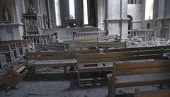 Arménie obvinila Ázerbájdžán z ostřelování kostela, na místě v tu dobu byly děti