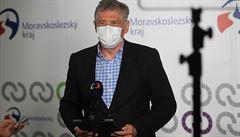 Situace s koronavirem se v Moravskoslezském kraji zhoršuje, varuje hejtman Vondrák