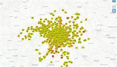 Autobus už je za rohem, ukazuje nově cestujícím živá mapa MHD v Praze. Jak funguje?