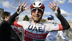 Ulissi vyhrál na Giru už druhou etapu, Almeida si druhým místem upevnil vedení