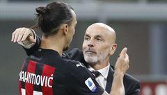Covid Ibrahimoviče vyčerpal, prosil i o střídání. Pak ale zářil a hlásil: 'Zavřeli jste špatné zvíře'