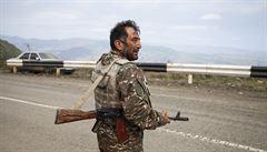 Ázerbájdžán obvinil Armény z vražedného útoku v Karabachu. Jeden voják při něm zemřel, další je zraněný