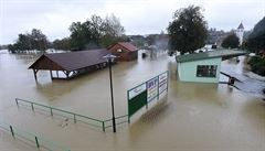Hladiny rozvodněných řek na Moravě postupně klesají. Druhý stupeň nebezpečí platil už jen na pěti místech