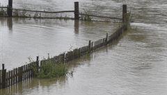 Povodně zcela odřízly od okolí opavskou část Držkovice, na místě pomáhají hasiči