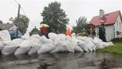Déšť opět rozvodnil řeky. Nejvíce na východě Čech a jihu Moravy