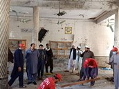 Výbuch v náboženské škole v Pákistánu nepřežily nejméně čtyři děti