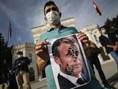 Muslimské země se bouří kvůli francouzským karikaturám Mohameda