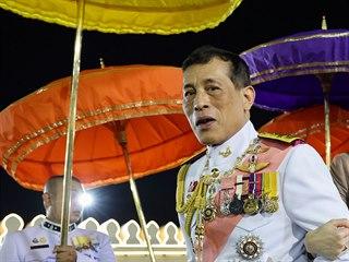 Thajský král Mahá Vatčirálongkónl.