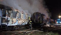 Požár v Železničním muzeu v Jaroměři poškodil pět historických vagonů. Škoda je až 81 milionů