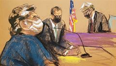 Vůdce sexuální sekty, která zneužívala ženy, dostal v USA trest 120 let vězení