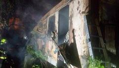 Čtyři lidé uhořeli v Brně v železničním vagoně, zřejmě se jednalo o přespávající bezdomovce