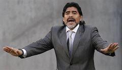 Legendární Maradona bojuje s obezitou. Už podruhé si nechal zmenšit žaludek