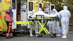 Třetina úmrtí na covid nastane do čtyř dnů po hospitalizaci. Lidé přicházejí pozdě a ve vážném stavu