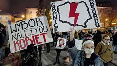 Polská policie nepustila odpůrce zákazu potratů k sídlu dolní komory parlamentu