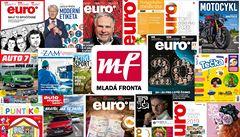 Ztráty vydavatelství Mladá fronta rostou měsíčně o miliony, firma žádá o vyhlášení konkurzu