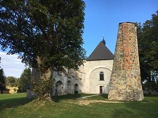 Věž kostela v Pohoří na Šumavě se zřítila poslední květnovou neděli roku 1999