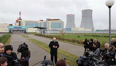 Ochranný systém při testech odpojil jadernou elektrárnu v Bělorusku, úroveň radiace je ale prý normální