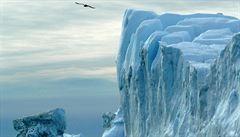 Ledovec o velikosti Manhattanu šel k zemi