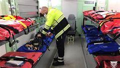 Na Silvestra a Nový rok bude sloužit více záchranářů. Důvodem jsou hlavně protikoronavirová opatření