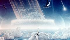Dopady kosmických těles výrazně přispěly i ke vzniku pozemského života