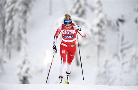 Běžkyně Razýmová byla na desítce 27., vyhráli Johaugová a Klaebo