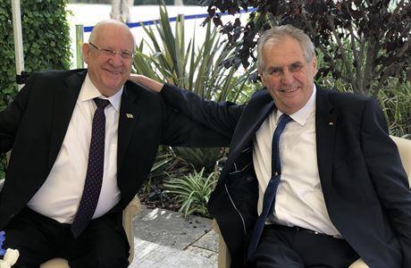 Historie nás spojuje, říká izraelský prezident Rivlin v exkluzivním rozhovoru pro mimořádnou přílohu LN