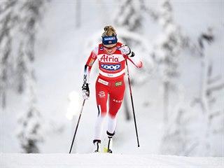 Ve finské Ruce zvítězila favorizovaná Norka Therese Johaugová.
