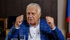 Klaus podal stížnosti kvůli rozhovoru, z kterého odešel. Český rozhlas je prý extrémně zaujatý