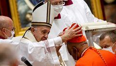 Papež František ve Vatikánu jmenoval 13 nových kardinálů. Poprvé se jím stal Afroameričan