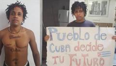 Umělci na Kubě drží hladovku za uvězněného rappera, který byl odsouzen k osmi měsícům za pohrdání policií