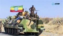 Tanky ve městě a hrozící ostřelování. Etiopská armáda varuje civilisty před ofenzívou