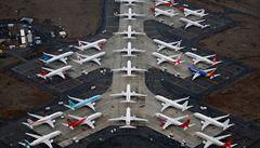 'Ohromný úkol.' Letadla Boeing 737 MAX už technici připravují k provozu