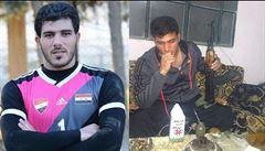 VIDEO: Odpal místo výkopu. Syrský gólman baví celý svět, odpůrci Asadova režimu jej nazývají vrahem