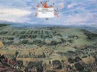 Po deváté hodině se zvedá ranní mlha, na Bílou horu dorazila vojska s předstihem