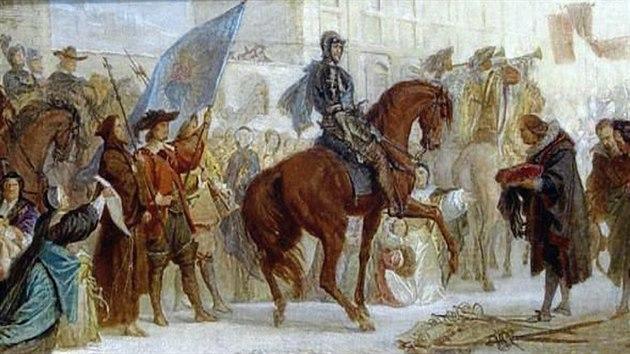 Bílá hora 400 let poté: Praha byla dána vojsku v plen. Po necelých pěti dnech přišel konec povstání